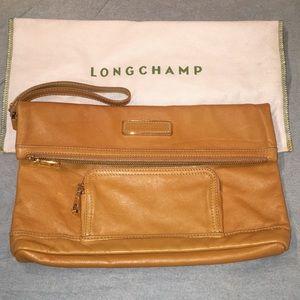 Longchamp limited edition leather legende clutch